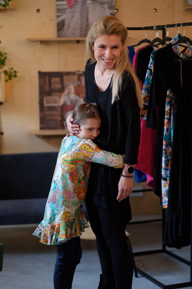Kurs szycia sukienki mocy dla mamy i córki